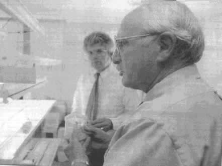 Richard Stoner ( left) and Dr. Ken Knutson (right)