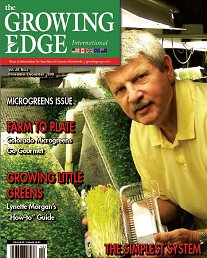 Grow AnyWhere Air-Foods Facility Featured in Growing Edge Magazine 2009 and the amazing benefits of Aeroponics
