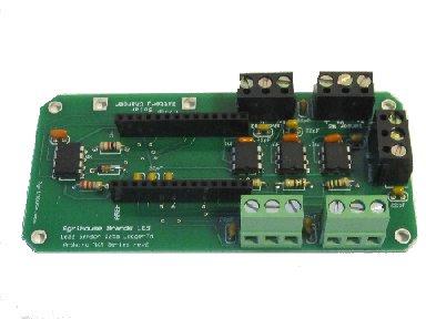 Arduino Data logger Board for leaf sensors